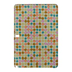 Retro dots pattern	Samsung Galaxy Tab Pro 12.2 Hardshell Case by LalyLauraFLM