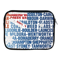 Australia Place Names Flag Apple Ipad 2/3/4 Zipper Cases by theimagezone