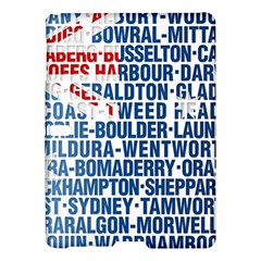 Australia Place Names Flag Samsung Galaxy Tab S (10 5 ) Hardshell Case  by theimagezone