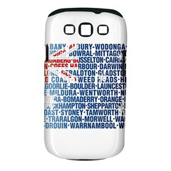 Australia Place Names Flag Samsung Galaxy S Iii Classic Hardshell Case (pc+silicone) by theimagezone