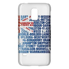 Australia Place Names Flag Galaxy S5 Mini by theimagezone