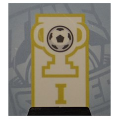 Time Of Soccer   Level 1 By Rafal Lutczyk   Drawstring Pouch (large)   E0z67fp3vi05   Www Artscow Com Back