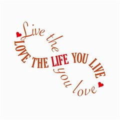Live The Life You Love Collage 12  x 18  by theimagezone