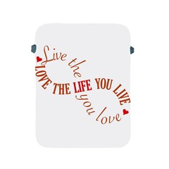Live The Life You Love Apple Ipad 2/3/4 Protective Soft Cases by theimagezone