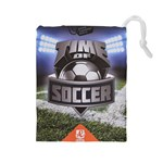 Time of soccer - Level 2 - Drawstring Pouch (Large)