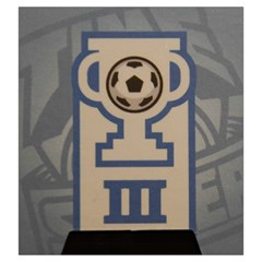 Time Of Soccer   Level 3 By Rafal Lutczyk   Drawstring Pouch (large)   Brigtgoa8nmo   Www Artscow Com Back