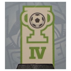 Time Of Soccer   Level 4 By Rafal Lutczyk   Drawstring Pouch (large)   Z74yr9vgbh8w   Www Artscow Com Back