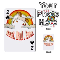 Best  Dad  Ever  Playing Cards 54 Designs