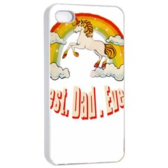 Best  Dad  Ever  Apple Iphone 4/4s Seamless Case (white) by redcow