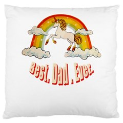 Best  Dad  Ever  Large Cushion Cases (two Sides)  by redcow