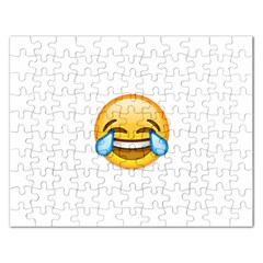 Cryingwithlaughter Rectangular Jigsaw Puzzl by redcow