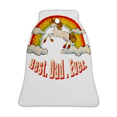 Best  Dad  Ever Bell Ornament (2 Sides) by redcow