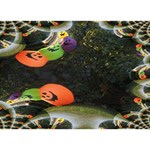 Floating Pumpkins TAKE CARE 3D Greeting Card (7x5)  Front
