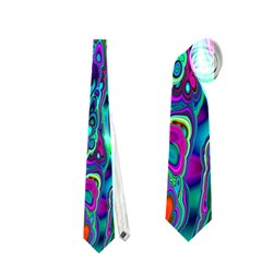 Inked Spot Necktie (one Side)
