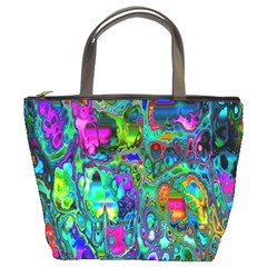 Inked Spot Bucket Bag by TheWowFactor