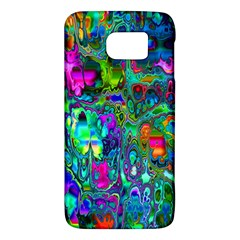 Inked Spot Fractal Art Samsung Galaxy S6 Hardshell Case  by TheWowFactor