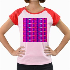Pink Cell Mate Women s Cap Sleeve T Shirt by TheWowFactor