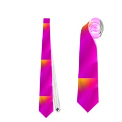 Pink Cell Mate Neckties (two Side)  by TheWowFactor