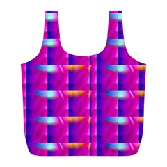 Pink Cell Mate Full Print Recycle Bags (l)  by TheWowFactor