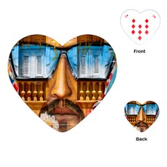 Graffiti Sunglass Art Playing Cards (Heart)  by TheWowFactor