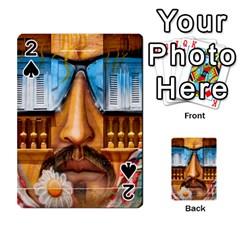Graffiti Sunglass Art Playing Cards 54 Designs