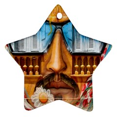Graffiti Sunglass Art Star Ornament (two Sides)  by TheWowFactor