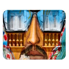 Graffiti Sunglass Art Double Sided Flano Blanket (large)  by TheWowFactor