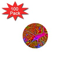 Biology 101 Abstract 1  Mini Buttons (100 Pack)  by TheWowFactor