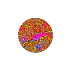 Biology 101 Abstract Golf Ball Marker by TheWowFactor