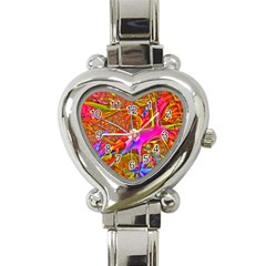 Biology 101 Abstract Heart Italian Charm Watch by TheWowFactor