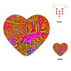 Biology 101 Abstract Playing Cards (heart)  by TheWowFactor