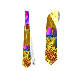 Biology 101 Abstract Neckties (one Side)  by TheWowFactor