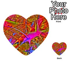 Biology 101 Abstract Multi Purpose Cards (heart)  by TheWowFactor
