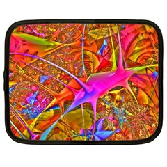 Biology 101 Abstract Netbook Case (large)	 by TheWowFactor