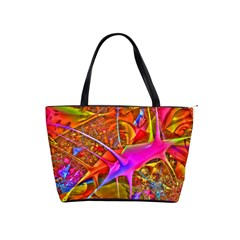 Biology 101 Abstract Shoulder Handbags by TheWowFactor