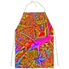Biology 101 Abstract Full Print Aprons by TheWowFactor