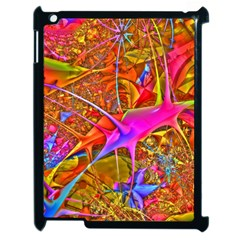 Biology 101 Abstract Apple Ipad 2 Case (black) by TheWowFactor