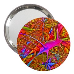 Biology 101 Abstract 3  Handbag Mirrors by TheWowFactor