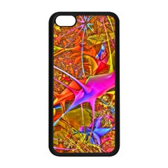 Biology 101 Abstract Apple Iphone 5c Seamless Case (black) by TheWowFactor