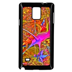 Biology 101 Abstract Samsung Galaxy Note 4 Case (black) by TheWowFactor