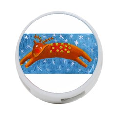 Rudolph The Reindeer 4-Port USB Hub (Two Sides)  by julienicholls