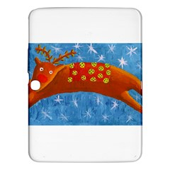 Rudolph The Reindeer Samsung Galaxy Tab 3 (10.1 ) P5200 Hardshell Case  by julienicholls