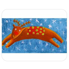 Rudolph The Reindeer Double Sided Flano Blanket (Medium)  by julienicholls