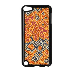 Red Blue Yellow Chaos Apple Ipod Touch 5 Case (black) by LalyLauraFLM