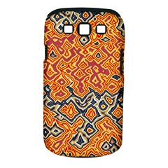Red Blue Yellow Chaos Samsung Galaxy S Iii Classic Hardshell Case (pc+silicone) by LalyLauraFLM
