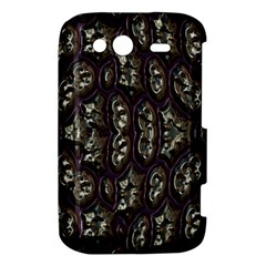 3d plastic shapes HTC Wildfire S A510e Hardshell Case by LalyLauraFLM