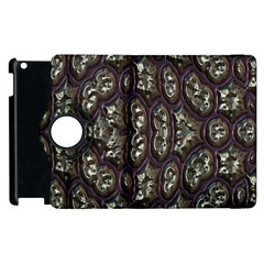 3d Plastic Shapes Apple Ipad 3/4 Flip 360 Case by LalyLauraFLM