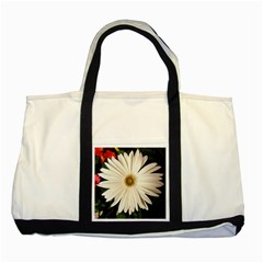Daisy Two Tone Tote Bag
