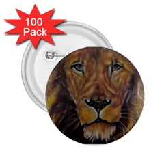 Cecil The African Lion 2 25  Buttons (100 Pack)  by timelessartoncanvas
