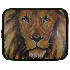 Cecil The African Lion Netbook Case (large)	 by timelessartoncanvas